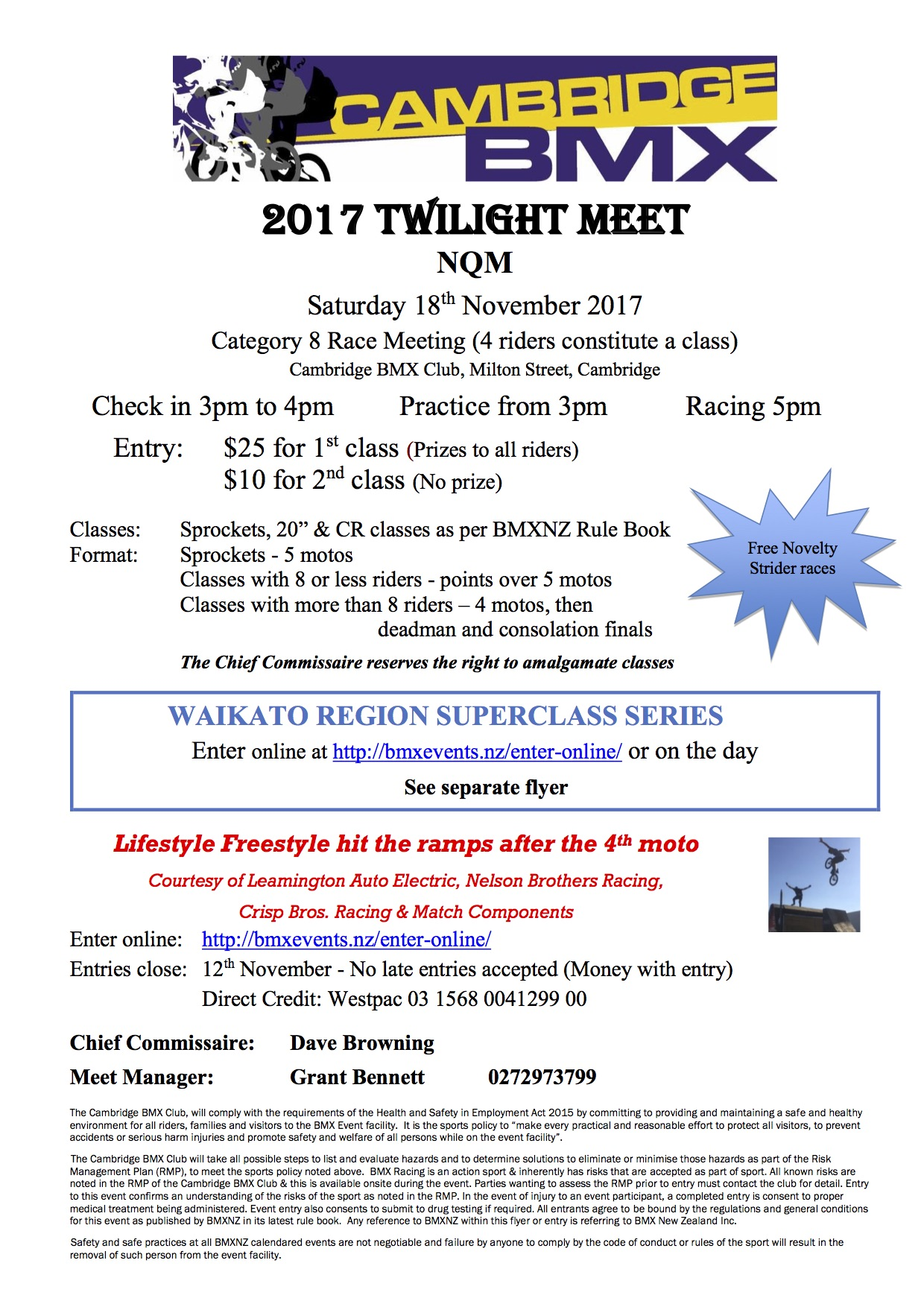 Upcoming Events | 2017 Cambridge Twilight Meet – CB |